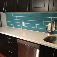 kitchen kitchens diy forward diy turquoise subway tile backsplash