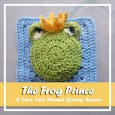 Free crochet pattern: The Frog Prince granny square with tutorial by Creative Crochet Workshop for American Crochet