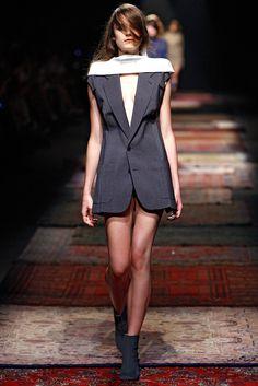 Maison Martin Margiela RTW S/S 2012.  Model - Laura McCone.