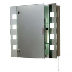 Photo Of bathroom mirror cabinets with led lights