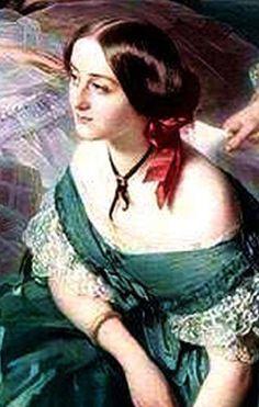 Adrienne de Villeneuve-Bargemont, comtesse de Montebello (1826-1870), épouse de Gustave Olivier Lannes de Montebello