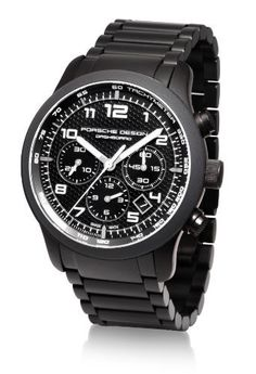 Porsche Design Men's Titanium Black PVD ...
