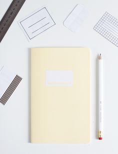 DIY Notizhefte Gestalten Etiketten