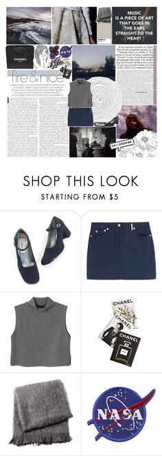 """""""you are water twelve feet deep"""" by neptnue ❤ liked on Polyvore featuring Kenzo, Monki, PAM, Chanel, Assouline Publishing, From the Road and kikitags"""