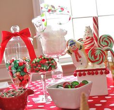 more candy decorations