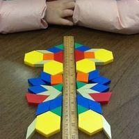 Bonne idée pour manipuler la symétrie ! Merci Pinterest ! Version géante Variante avec un miroir qui peut facilement être rajouté à l'atelier