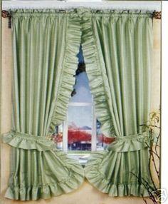 SAGE GREEN RUFFLED PRISCILLA FABRIC WINDOW CURTAIN by Better Home, http://www.amazon.com/dp/B006NLJAKQ/ref=cm_sw_r_pi_dp_picNrb0R65Z9B