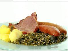 Rezept Grünkohl mit Kassler, Mettenden und Cabanossi von dnielsen62 - Rezept der Kategorie Hauptgerichte mit Fleisch