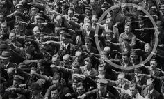 August Landmesser refusing Hitler salute 1936...i know this is pinned already but i always wanted to know who this was!