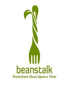 Beanstalk chef logo, healthy meala, healthy recipes, restaurant names, luxu Restaurant Logo Design, Food Logo Design, Restaurant Names, Best Logo Design, Logo Food, Graphic Design, App Design, Stevia, Smoothies