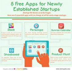 Always a tough road to startup success, but these free of charge apps can help you get there!