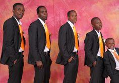 Kenya groomsmen wear