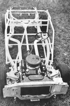 1962 Ford Holman and Moody  frame and roll cage