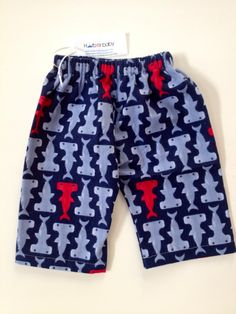 Hand made hammerhead lounge pant. So cute for little guys!  harborbabyclothes.ecrater.com