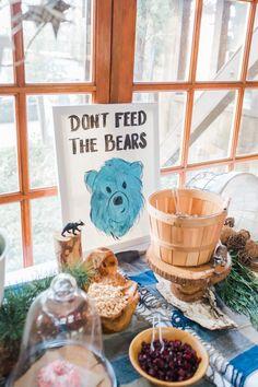 Trail Mix Snacks from a Rustic Camping Birthday Party via Kara's Party Ideas   KarasPartyIdeas.com (31)