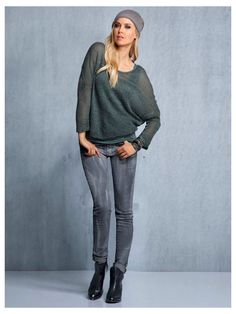2 in 1 Pullover #Jeans