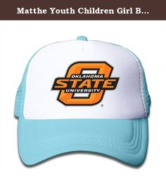 Matthe Youth Children Girl Boy Kids Fashion Printed Pattern Oklahoma State University OSU Cowboys Logo Unisex Half Mesh Adjustable Baseball Cap Hat Snapback SkyBlue. The Cap Is Poly Foam Trucker Hat With Screen Print At Front Panel,you Can Find Sun Hats That Blocks Sun Rays From Your Face,ears,neck.You Can Browse Our Selection Of Other Options For Everything From Fishing,hiking,and Skiing To Running And Golf.