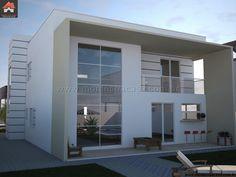 Planta de Sobrado - 3 Quartos - 279.38m² - Monte Sua Casa