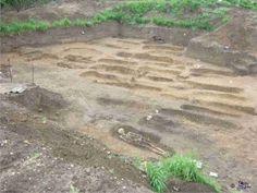 Roman burial site in Norfolk.