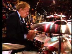 Widely considered one of the greatest jazz drummers of all time, Buddy Rich played with Tommy Dorsey, Benny Carter, Ella Fitzgerald and Louis Armstrong. He continued to play until shortly before his death in 1987, and his skills were fully intact until the end - as evidenced by this incredible latter-day drum solo.