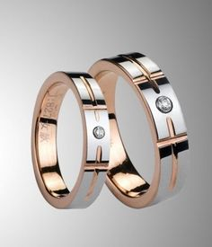 5f6f76f6f6 Rose Gold Plating Tungsten Ring for Couple/Lovers. fashion trend · Wedding  rings