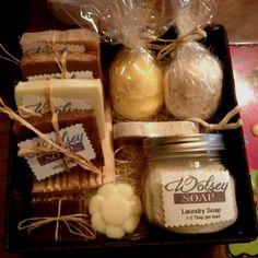 Wolsey Soap Gift Basket