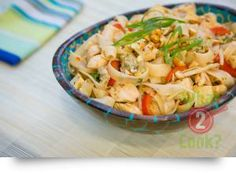 Pad Thai Noodles with Ginger