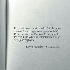 David Foenkinos. Prendre l'air (viens, on va fumer une cigarette:-)