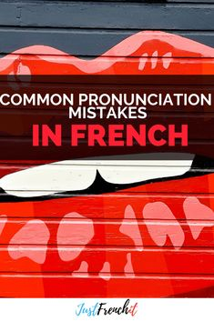 You know what matters more than anything else when you want to speak French? So avoid those pronunciation mistakes in French. French Sentences, French Phrases, French Words, Learning Cards, Ways Of Learning, French Language Learning, Learn A New Language, Language Lessons, Second Language