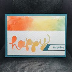 Helaas zijn de Hello You stansen die Ingrid Nellen heeft gebruikt om het woord Happy uit te stansen al een flinke tijd uit het assortiment. De kaart is er niet minder mooi om. De prachitge achtergrond heeft ze zelf gemaakt en nadat ze de Happy spreuk had uitgestanst heeft ze het velletje wat textuur gegeven met de Subtles 3d embossing folder. Mooi hoor. #prulleke #prullekekleurencombinatie #stampinupnederland #helloyoudies #kleurencombinatie #subtlesembossingfolder #subtles3dembossingfolder Stampin Up, Birthday, Cover, Frame, Books, Decor, Picture Frame, Birthdays, Libros