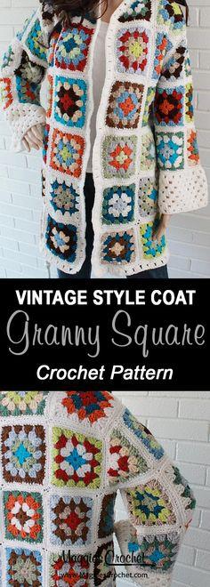Transcendent Crochet a Solid Granny Square Ideas. Inconceivable Crochet a Solid Granny Square Ideas. Granny Square Slippers, Granny Square Sweater, Sunburst Granny Square, Granny Squares, Square Scarf, Crochet Scarf Easy, Crochet Jacket, Crochet Cardigan, Crochet Shawl
