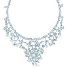 Tiffany & Co. Schlumberger スター ムーン ネックレス ダイヤモンド プラチナ | Tiffany & Co.