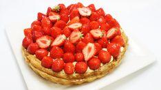 Aardbeien-custard taart - Recepten zoeken