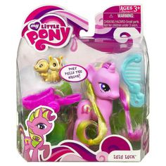 MLP Single Wave 3 Lulu Luck Brushable Figure