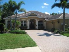 7619 Trillium Boulevard #Sarasota, #FL 34241  4 Bedrooms, 3 Full Baths, Living Room, Family Room, Bonus Room, Office, Laundry Room. Large Lanai overlooking a heated Salt Water Pool & Hot tub Caged surrounded by Palms for privacy, Lanai plumbed for outside Kitchen, Gutters on entire Home, Fenced Yard, 3 Car Garage. #Florida #RealEstate