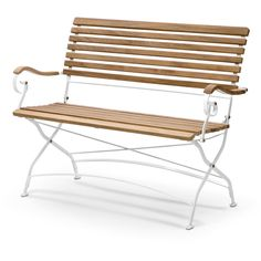 The Grenen Outdoor Bench was designed by Mogens Holmriis for the Danish manufacturer Skagerak. This bench is the perfect complement to the Grenen Garden Armcha White Patio Furniture, Nordic Furniture, Teak Outdoor Furniture, Furniture Design, White Outdoor Bench, Outdoor Chairs, Outdoor Decor, Outdoor Living, Mint Room