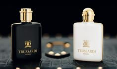 The perfumes of the brand of the Greyhound are the interpreters of a style that embodies tradition with an innovative and contemporary spirit. The classic Trussardi Uomo and Trussardi Donna pay tribute to the most successful fragrances in the history of the brand.