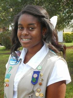Chesapeake Girl Scout earns Gold Award for learning garden project