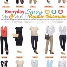 6.1 Ann Taylor Business Mix and Match Board VERTICAL (4)