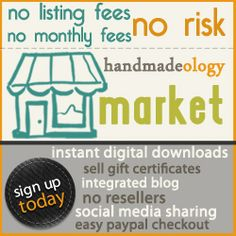 Handmadeology provides a seller's platform and resources to support crafters and artisans