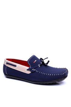 TMY 1015  Σκούρο Μπλε-Άσπρο Ανδρικό Παπούτσια