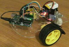 Make an Arduino bluetooth radio controlled car…