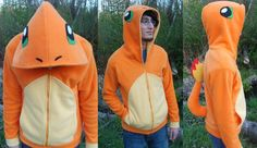 Charmander Hoodie @Rion Sabean - I feel like I've shown you this one before...