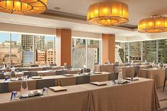 Meeting planners are requesting rooms with windows to allow the natural sunlight into the room to make for a more natural setting at The Ritz-Carlton, Toronto.