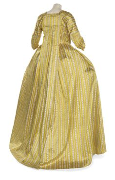 Robe a la francaise ca. 1770  From Christie's.
