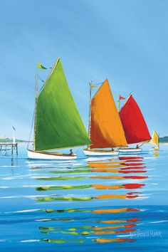 Cape Cod Sail by Sally Caldwell Fisher is printed with premium inks for brilliant color and then hand-stretched over museum quality stretcher bars. 60-Day Money Back Guarantee AND Free Return Shipping.
