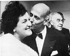 Birgit Nilsson and Sir Rudolf Bing