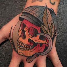 Tattoo de @kike.esteras con material @barber_dts @barberdts.spain. Para citas / for bookingsinfo@goldstreetbcn.com #tattoo #goldstreettattoo #barcelona