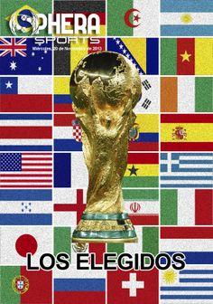 Os dejamos nuestra portada de mañana miércoles, 20 de Noviembre de 2013 | LOS ELEGIDOS | en www.spherasports.com #Brasil2014
