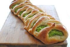 Broccoli Pesto Bread Braid!